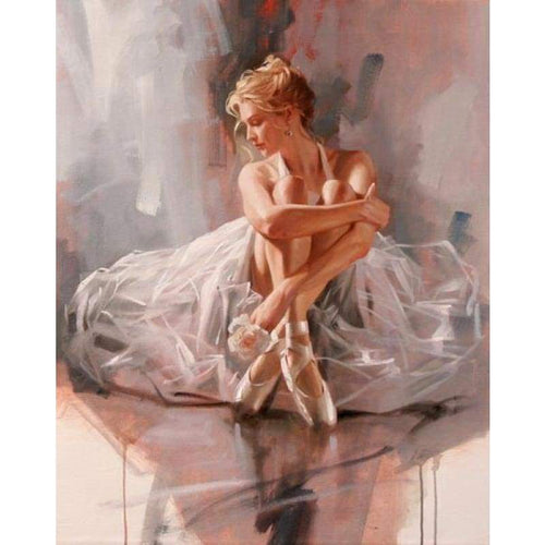 Full Drill - 5D DIY Diamond Painting Kits Elegant Dancer Girl - NEEDLEWORK KITS