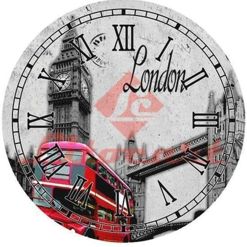 5D DIY Diamond Painting Kits Cartoon Lovely London Bridge Clock