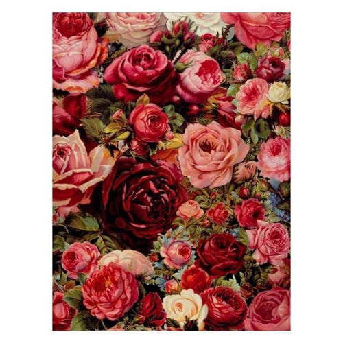 5D DIY Diamond Painting Kits Pretty Colorful Roses - 3