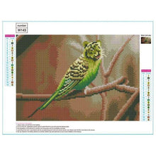 Load image into Gallery viewer, Full Drill - 5D DIY Diamond Painting Kits Special Tiger Face Bird - NEEDLEWORK KITS