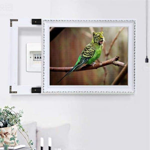 Full Drill - 5D DIY Diamond Painting Kits Special Tiger Face Bird - NEEDLEWORK KITS