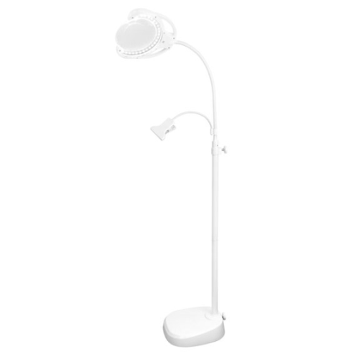 Triumph LED Rechargeable Floor/Table Lamp With Magnifier And Clip Arm - NEEDLEWORK KITS