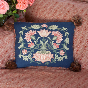 Lodden Collection - Lodden 1 (Blue Background) - Tapestry and Needlepoint