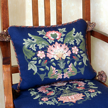 Load image into Gallery viewer, Lodden Collection - Lodden 2 (Blue Background) - Tapestry and Needlepoint