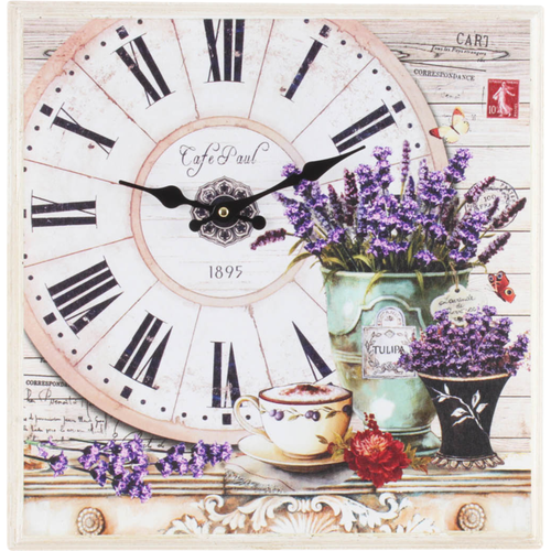 5D DIY Diamond Painting Kits Lavender Clock