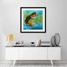 Load image into Gallery viewer, 5D DIY Diamond Painting Kits Cartoon The Baiting Fish