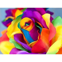 Load image into Gallery viewer, Full Drill - 5D DIY Diamond Painting Kits Colorful Flower - NEEDLEWORK KITS