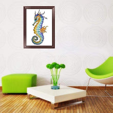 Load image into Gallery viewer, 5D DIY Diamond Painting Kits Cartoon Seahorse - 3