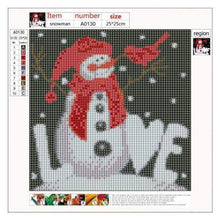 Load image into Gallery viewer, 5D DIY Diamond Painting Kits Cartoon Snowman For Love