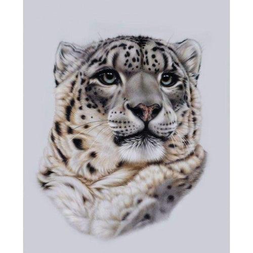 5D DIY Diamond Painting Kits Animal Portrait Leopard - 3