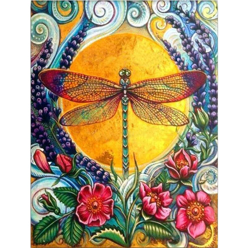 Full Drill - 5D Diamond Painting Kits Special Dragonfly - NEEDLEWORK KITS