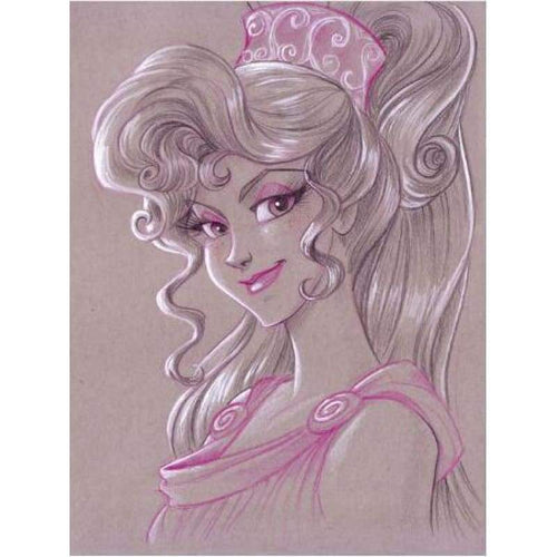 5D DIY Diamond Painting Kits Cartoon Smile Princess - Z3