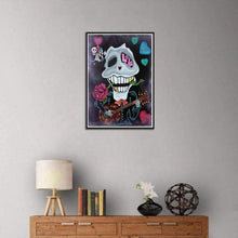 Load image into Gallery viewer, 5D DIY Diamond Painting Kits Cartoon Flower Skull for Love - 4