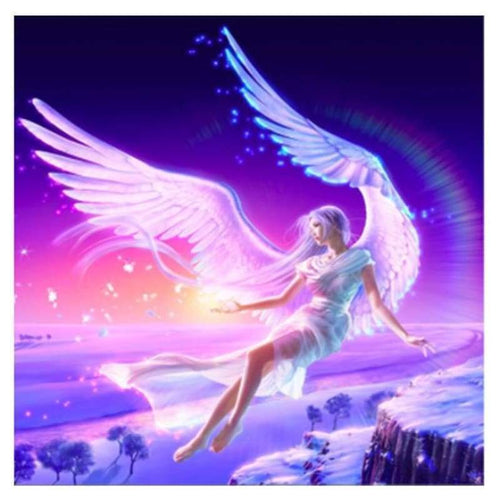 5D DIY Diamond Painting Kits Fantasy Elf Girl in the Sky