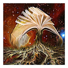 Load image into Gallery viewer, 5D DIY Diamond Painting Kits Cartoon Fantasy Mystical Book Tree