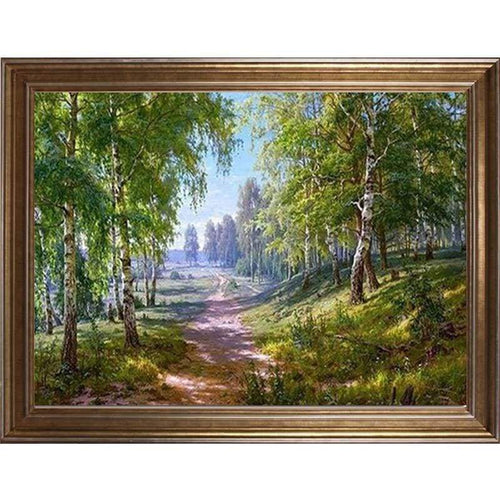 5D DIY Diamond Painting Kits Beautiful Forests Path - Z3