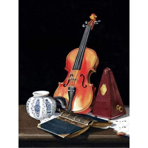 5D DIY Diamond Painting Kits Music Guitar Book - 3