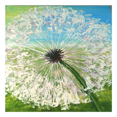 5D Diamond Painting Kits Watercolored Dandelion