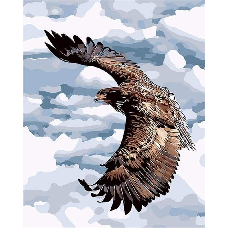 Animal Eagle Diy Paint By Numbers Kits PBN92302 - NEEDLEWORK KITS