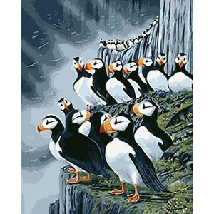 Penguin Diy Paint by Numbers Kits DIY PBN96424 - NEEDLEWORK KITS