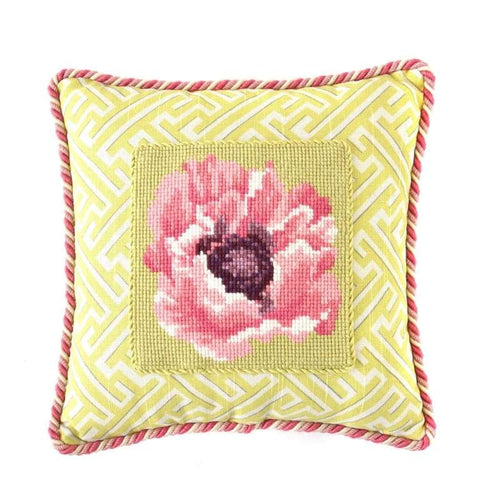 Poppy Mini Kit Needlepoint Kit Elizabeth Bradley Design