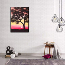 Load image into Gallery viewer, Full Drill - 5D DIY Diamond Painting Kits Popular Sunset Tree - NEEDLEWORK KITS
