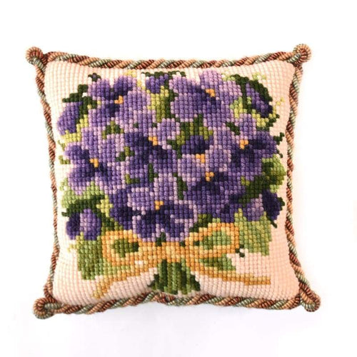 Posy of Violets Mini Kit - NEEDLEWORK KITS