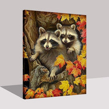 Load image into Gallery viewer, Raccoon Diy Paint By Numbers Kits PBN30106 - NEEDLEWORK KITS