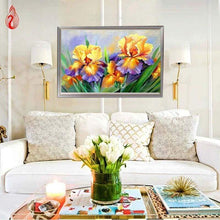 Load image into Gallery viewer, 5D DIY Diamond Painting Kits Oil Painting Yellow Flowers - 4