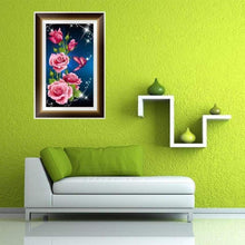 Load image into Gallery viewer, 5D DIY Diamond Painting Kits Romantic Roses and Butterflies - 5
