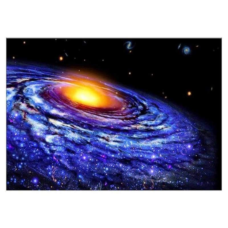 Full Drill - 5D DIY Diamond Painting Kits Shocked Starry Sky Galaxy - NEEDLEWORK KITS