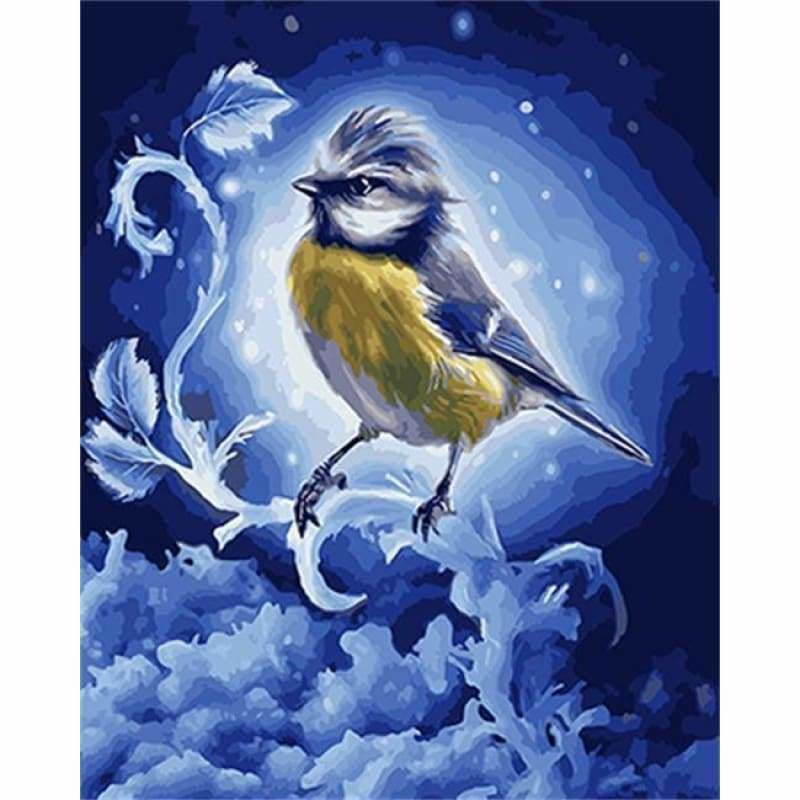 Full Drill - 5D Diamond Painting Kits Visional Starry Bird
