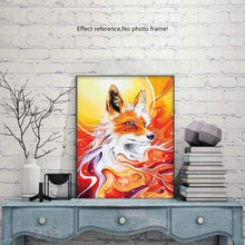 Load image into Gallery viewer, Full Drill - 5D Diy Diamond Painting Kits Special Visional Fox - NEEDLEWORK KITS