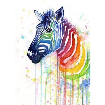 Zebra Diamond Painting Kits