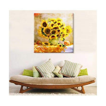 Load image into Gallery viewer, Full Drill - 5D DIY Diamond Painting Kits Special Popular Yellow Sunflowers - NEEDLEWORK KITS