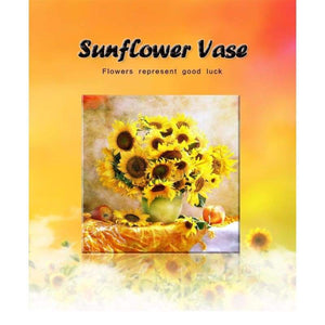Full Drill - 5D DIY Diamond Painting Kits Special Popular Yellow Sunflowers - NEEDLEWORK KITS