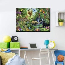 Load image into Gallery viewer, Full Drill - 5D DIY Diamond Painting Kits Special Safari Wildlife in the Forest - NEEDLEWORK KITS