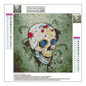 Full Drill - 5D DIY Diamond Painting Kits Death of Flowers - NEEDLEWORK KITS