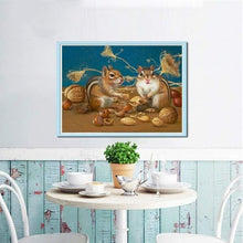 Load image into Gallery viewer, 5D DIY Diamond Painting Kits Special Squirrel Husking - 4