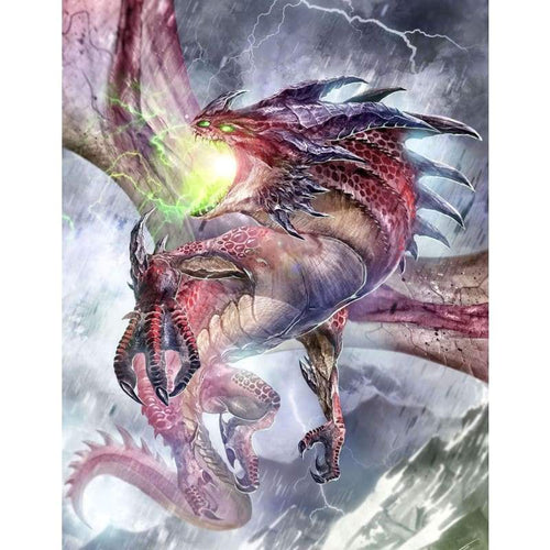 5D DIY Diamond Painting Kits Spitfire Dragon Wrath - Z3