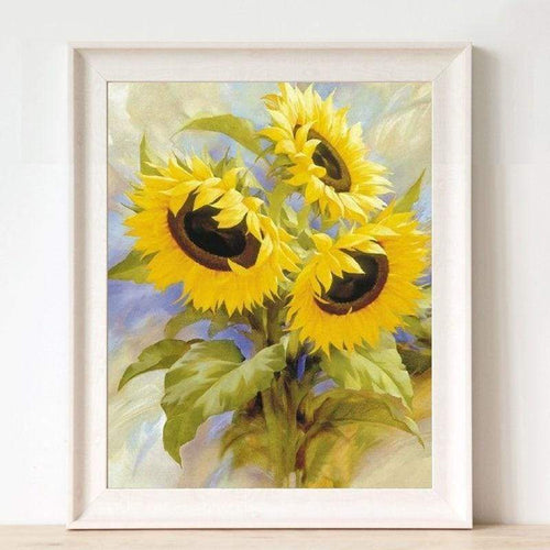 5D Diamond Painting Kits Special Sunflowers - Z3