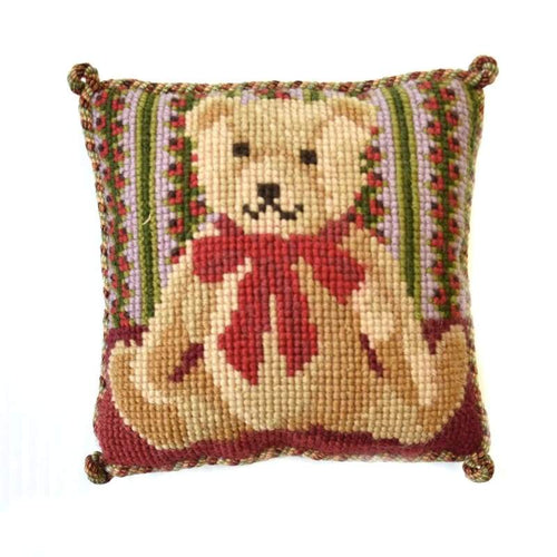 Teddy Bear Mini Kit - NEEDLEWORK KITS