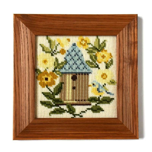 The Nest Box Mini Kit Needlepoint Kit Elizabeth Bradley Design