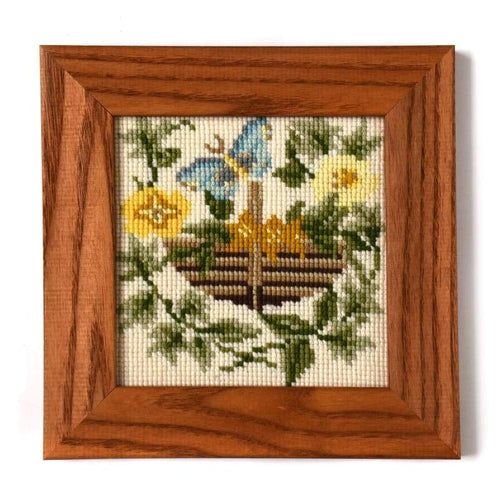 The Potager Mini Kit - NEEDLEWORK KITS