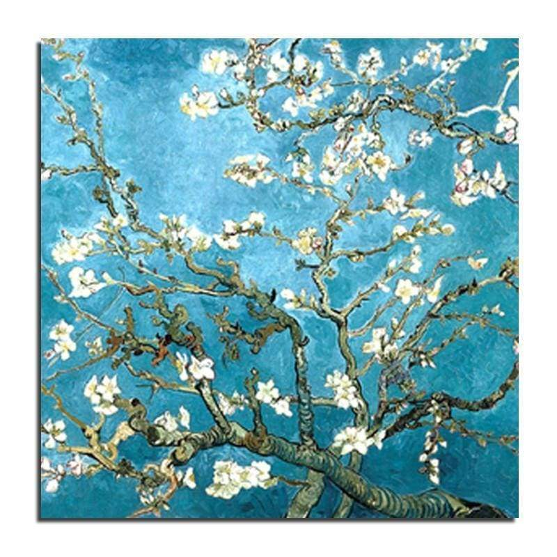 Full Drill - 5D DIY Diamond Painting Kits Tree Flower White and Flawless - NEEDLEWORK KITS