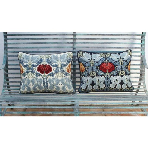 Tulip And Rose Collection - Tulip And Rose Collection (Both Cushions) - Tapestry And Needlepoint