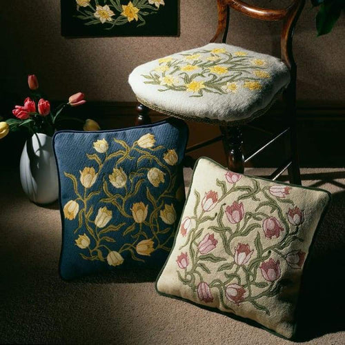 Flowers Collection - Flowers Collection (Three Tulip Cushions) - Tapestry And Needlepoint