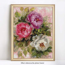 Load image into Gallery viewer, Full Drill - 5D DIY Diamond Painting Kits Watercolor Art Wall Decor Flower - NEEDLEWORK KITS