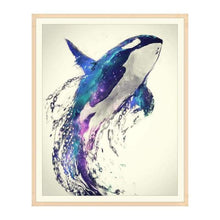 Load image into Gallery viewer, Full Drill - 5D DIY Diamond Painting Kits Watercolor Dream Flying Dolphin - NEEDLEWORK KITS