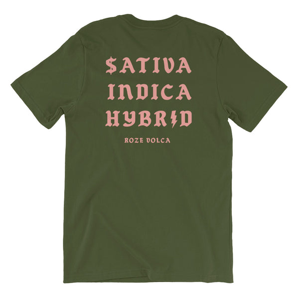 Strain Shirt in Olive Green